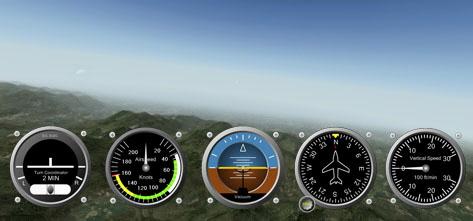 Panel para simuladores simplugins.com